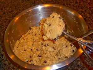 Using and Ice Cream Scoop
