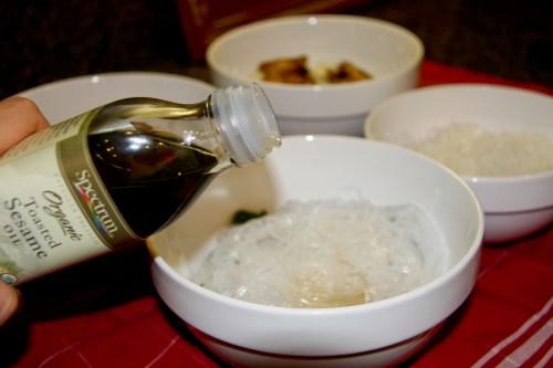 Add a TINY Splash of Sesame OIl For Taste