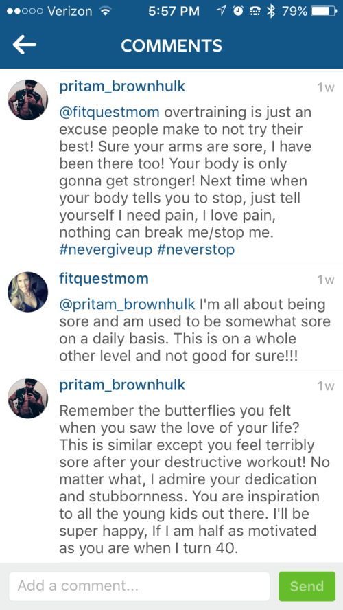 Swollen comments