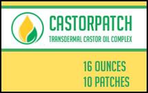Castorpatch Transdermal Castor Oil Complex