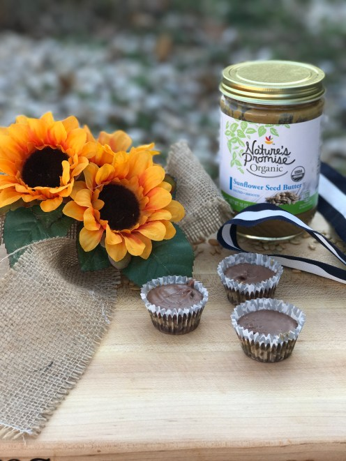 We use Nature's Promise Sun Flower Butter. We found it at our local grocery store with all of the other peanut butters and jams!