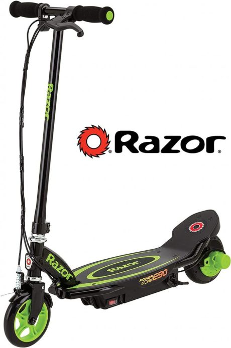 Razor battery powered vehicle for commting