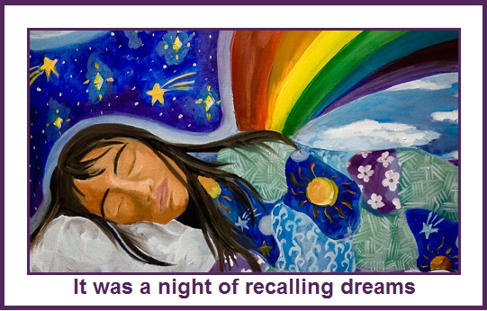 Image result for images for dream recall