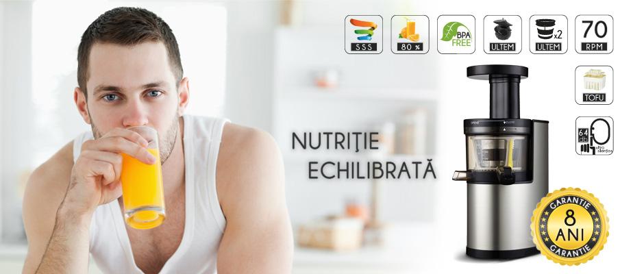 Storcator de fructe si legume / Slow Juicer - Balance Life