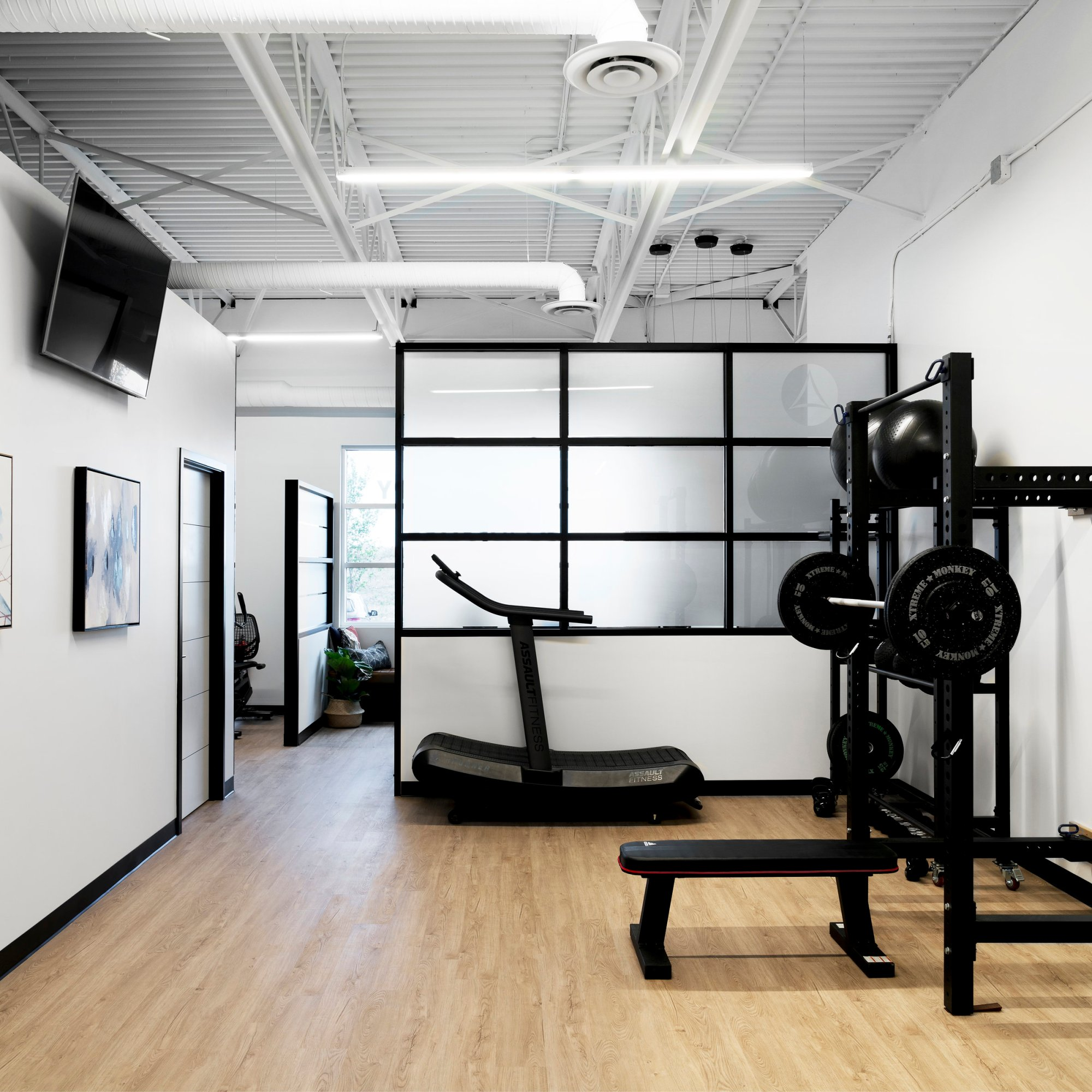 Balance Physiotherapy & Massage gym area