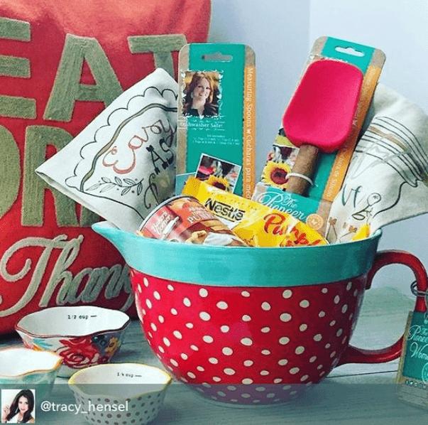 DIY Gift Basket with Baking Tools