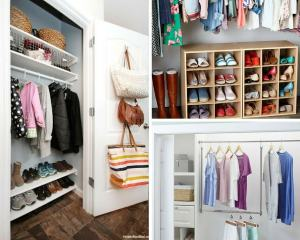 7 Borderline Genius Small Closet Organization Hacks