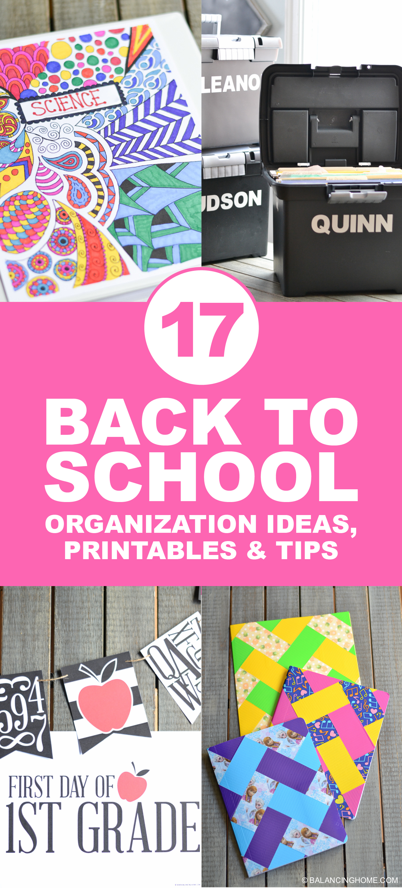 Back To School Organization Printables Amp Tips