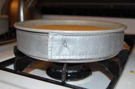 wilton cake bake even strips