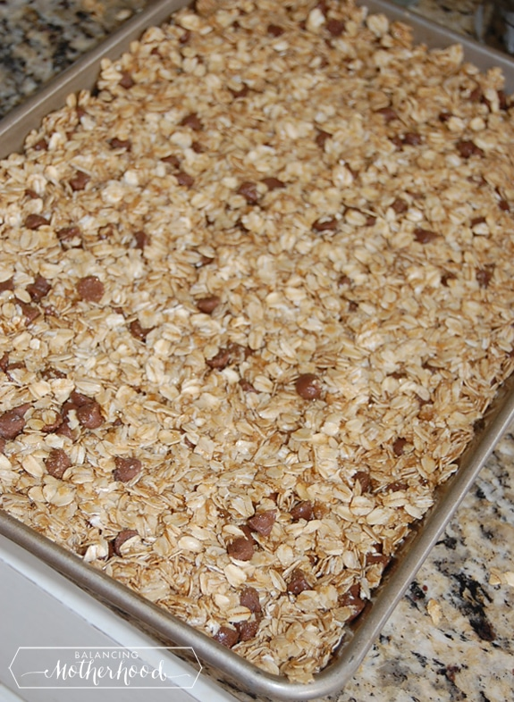 homemade granola bars | a simple and healthy treat
