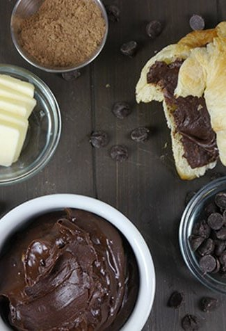 chocolate butter -- decadent and easy