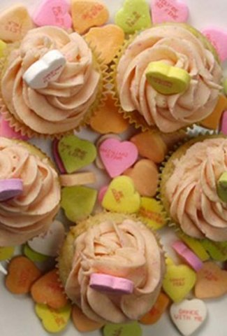 Valentines Cupcakes Grouped
