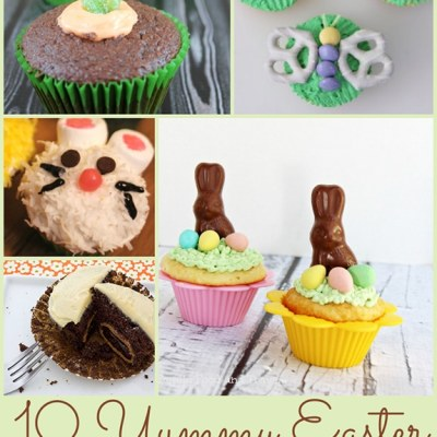 10 Sweet Easter Cupcakes