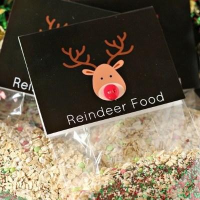 Reindeer Food [recipe + printable]