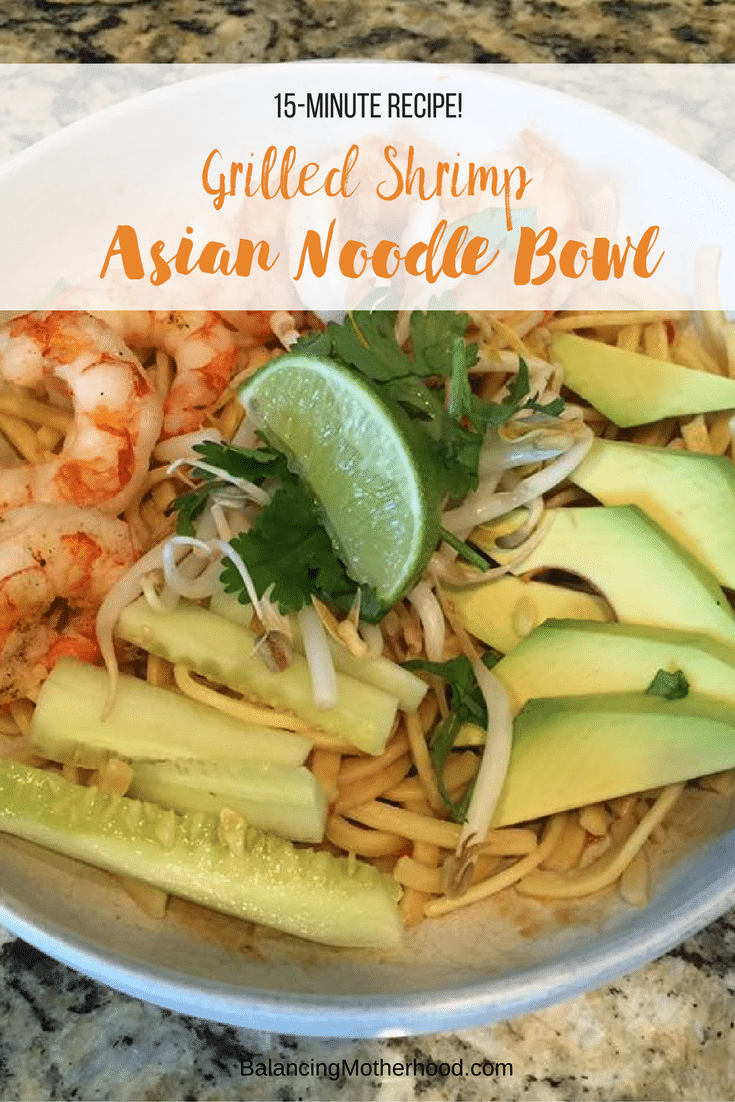 Easy, 15-Minute Asian Noodle Bowl