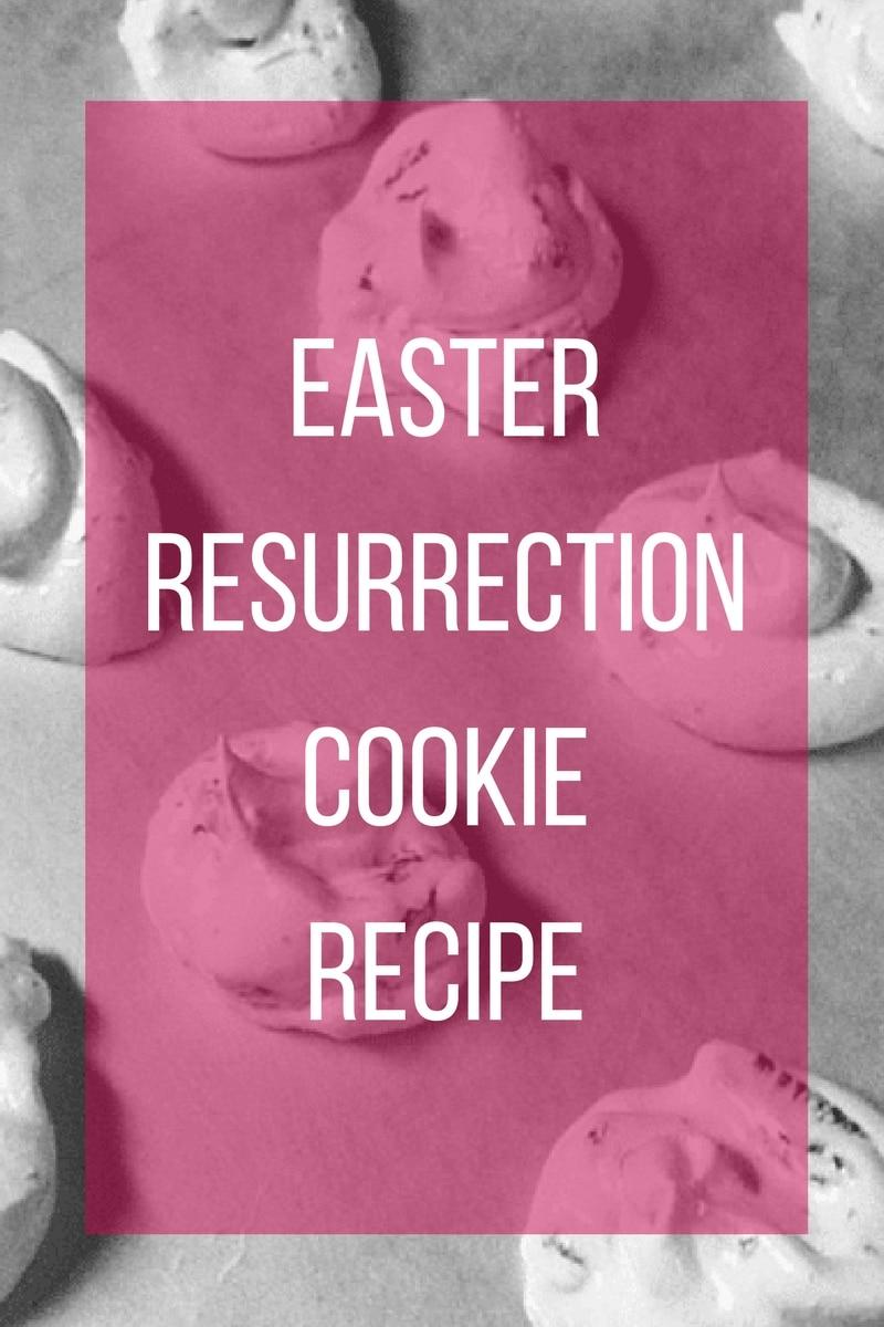 Easter resurrection cookies