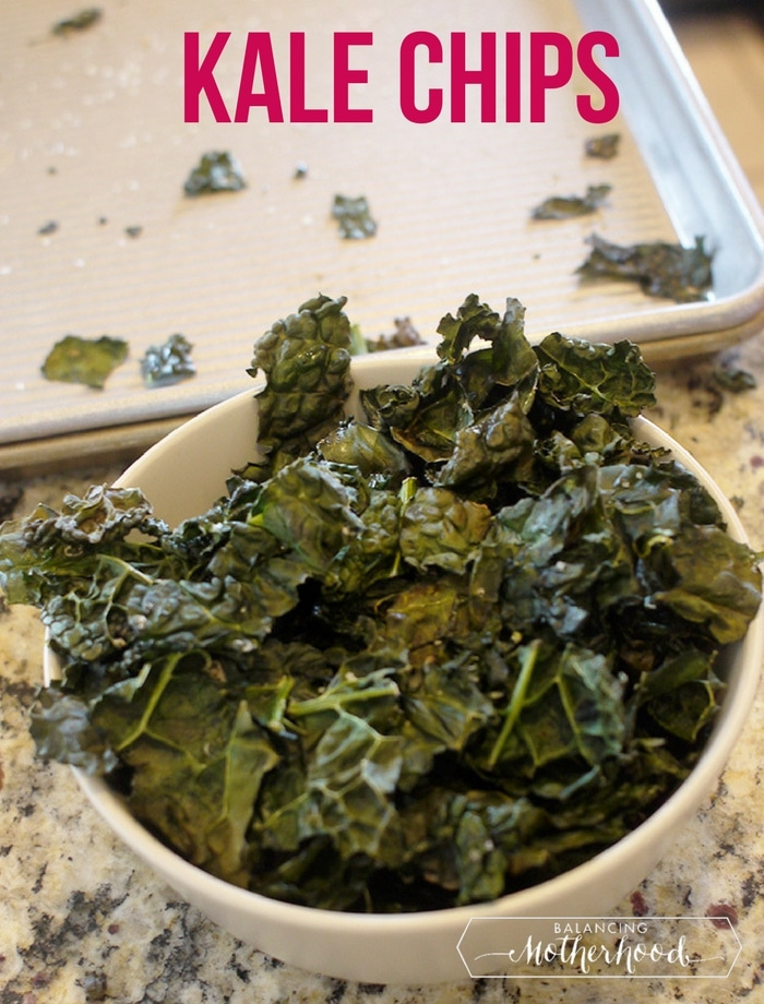 kale chips - easy to make instructions with tips for the perfect kale chips