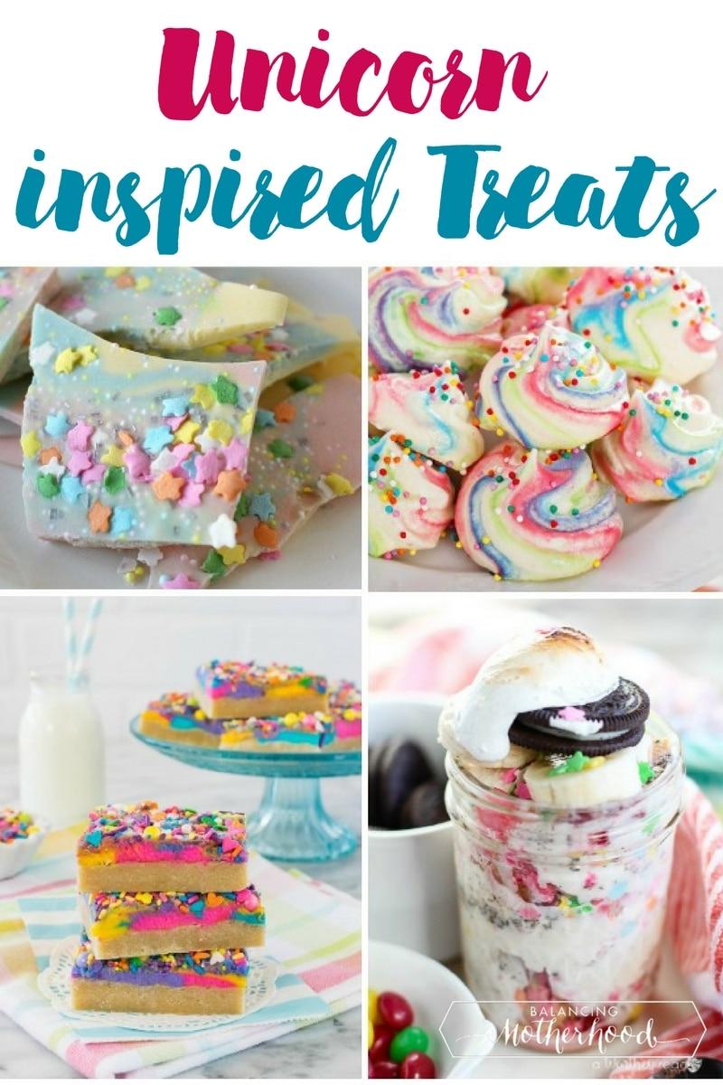 unicorn inspired treats