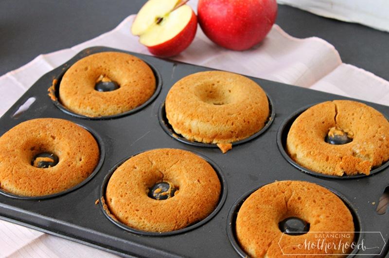 Apple Cider Donuts Preparation