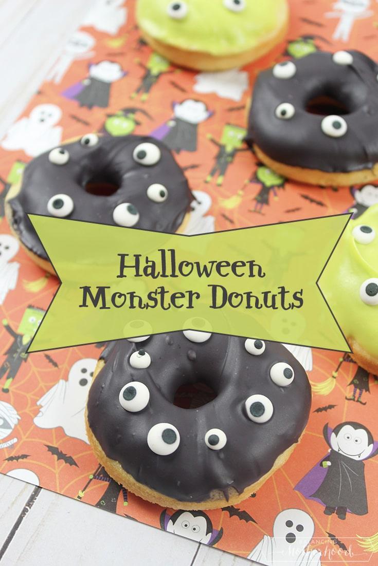 Halloween Monster Donuts Pinterest