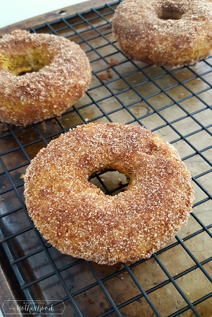 Pumpkin Spice Donuts In Process_4