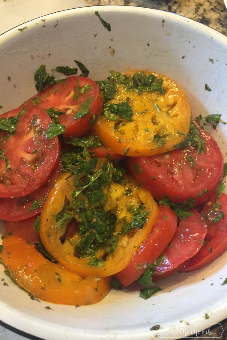 Tomato Tart Prep 1
