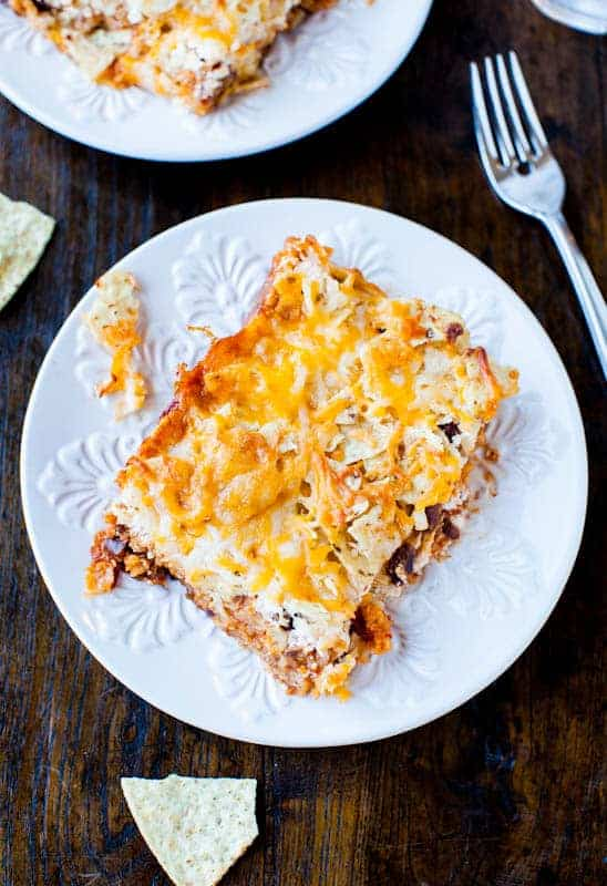 Chips and Cheese Chili Casserole - Averie Cooks