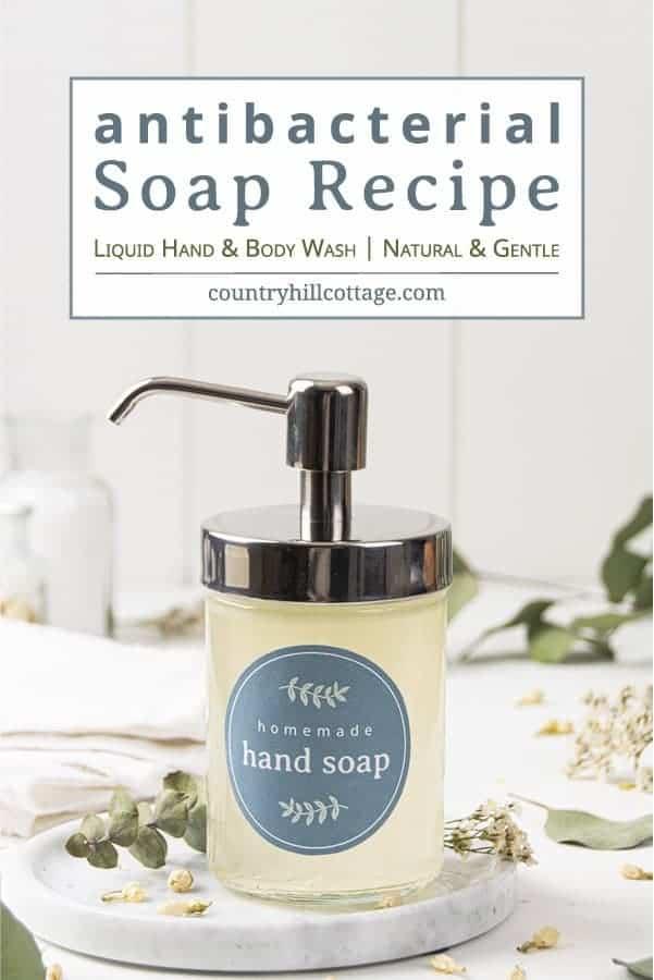 DIY Antibacterial Soap – How to Make Antibacterial Hand & Body Soap