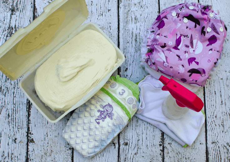 How to make a homemade baby wipes solution for cloth / disposable wipes