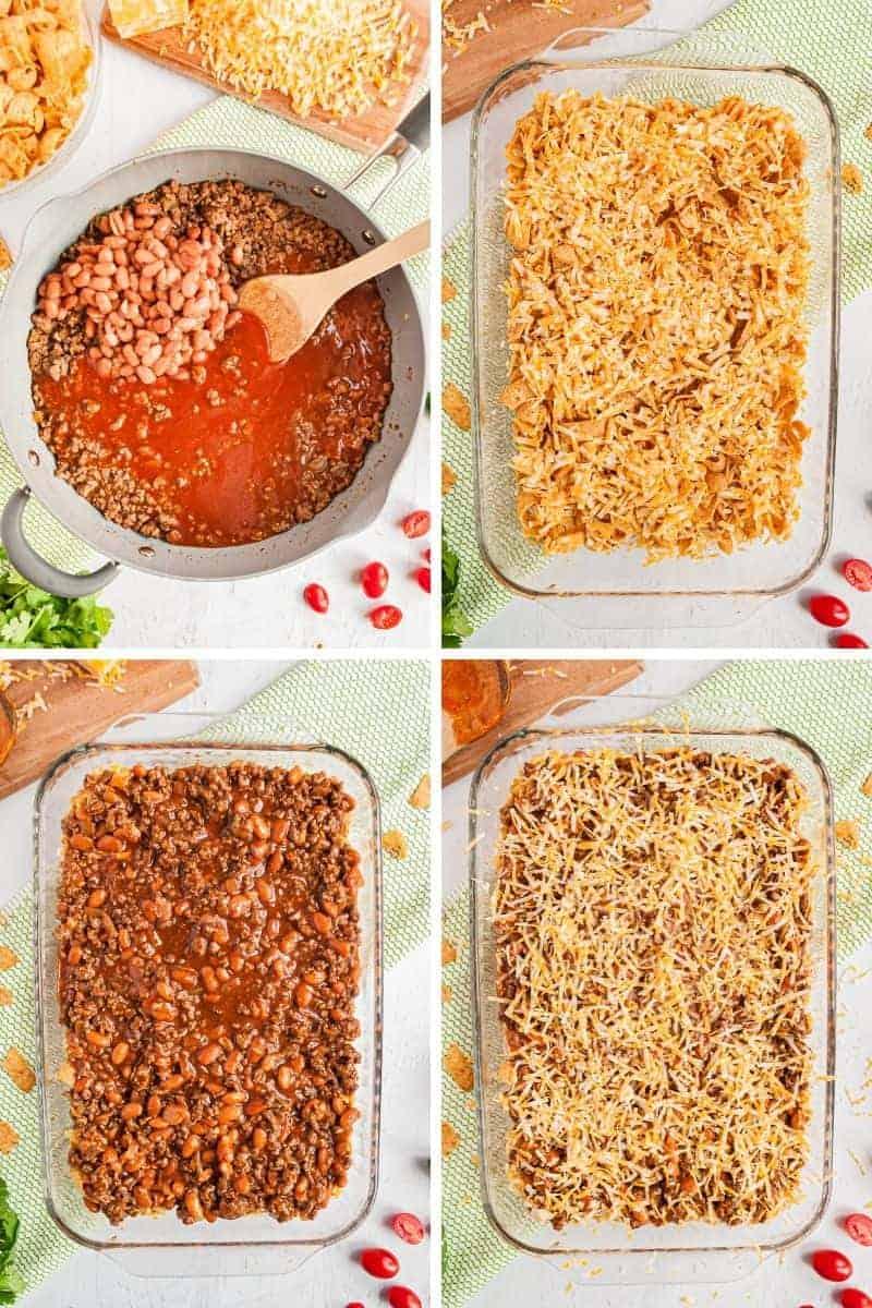 how to make frito pie casserole