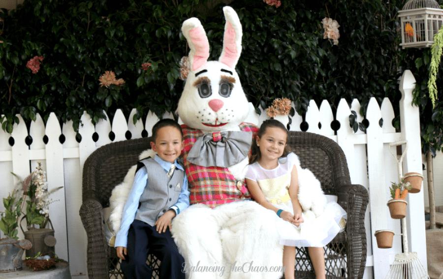 Irvine Park Railroad Easter Eggstravaganza Easter Bunny