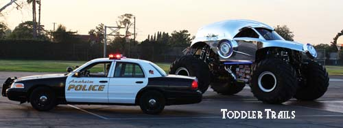 Debut Of The New Police Monster Truck Lessons In Safety