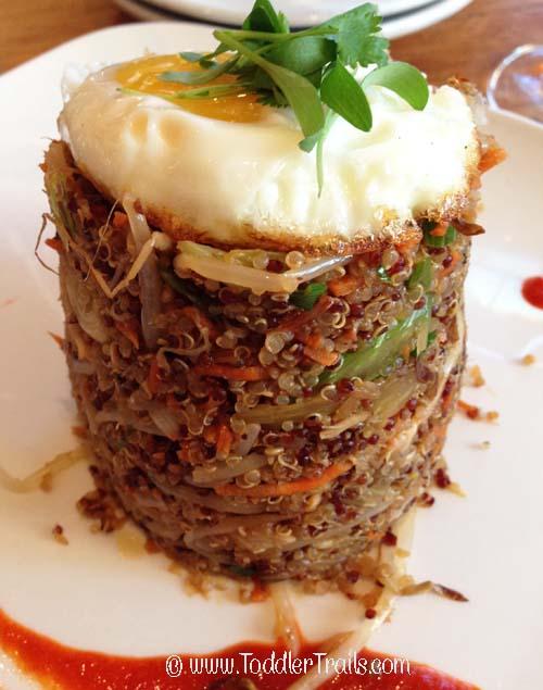 Sealegs Quinoa Crab Fried Rice