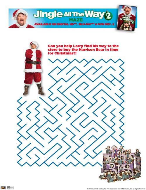 Jingle-All-The-Way-Maze