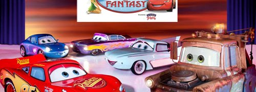 Disney On Ice, worlds of Fantasy, Lightening McQueen, Mater