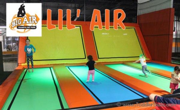 Big Air Orange County, Trampoline Park, Lil Air