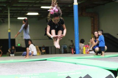 Birthday girl Jump