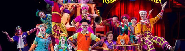 Barnum and Bailey Ringling Bros Circus
