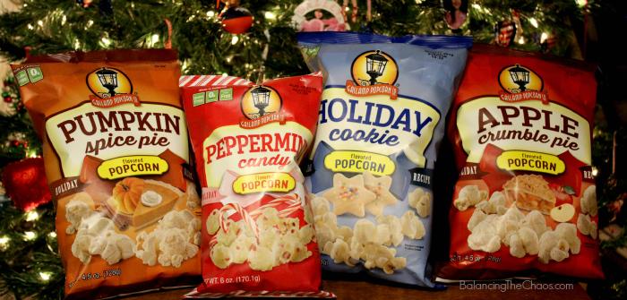 Gaslamp Popcorn Holidays, Holiday snacking