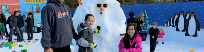 Holiday Snow Days 2015 Legoland CA