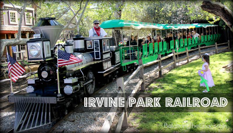 Irvine Park Railroad 20th anniversary celebration