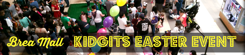 Brea Mall Kidgits Easter Event