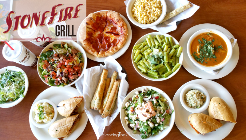 7 for $7 Lunch Specials Now at Stonefire Grill