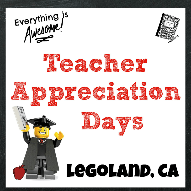 Legoland Thanks Teachers During Teacher Appreciation Days + #Giveaway | @Legoland_CA