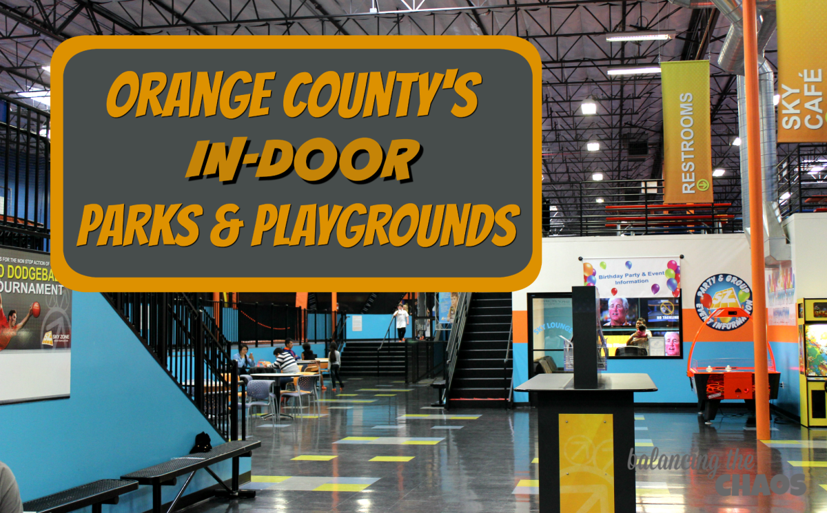 Stay Dry at These Orange County In-Door Parks and Playgrounds