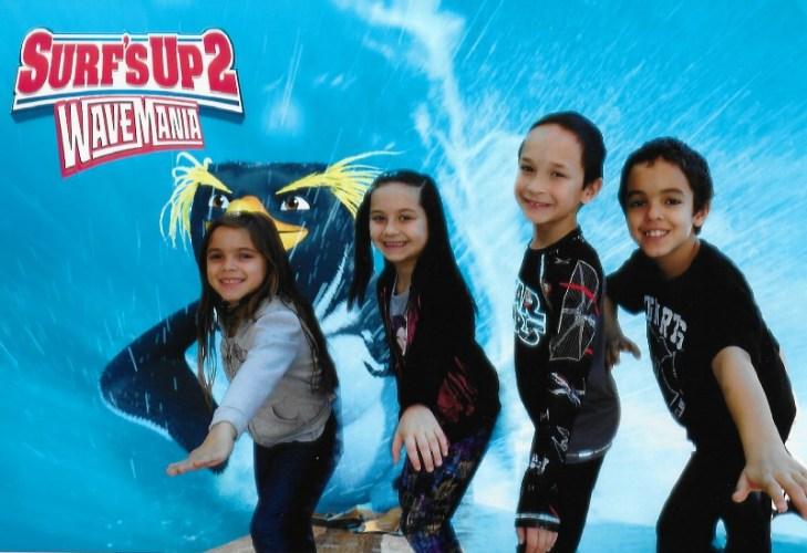 Surfs Up 2 Wave Mania Media Event