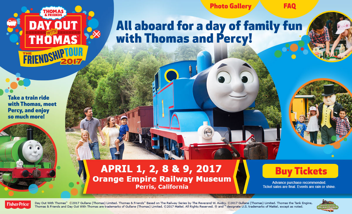 Spend A Day Out With Thomas The Tank Engine + Giveaway | @OrangEmpireRail #DayOutWithThomas