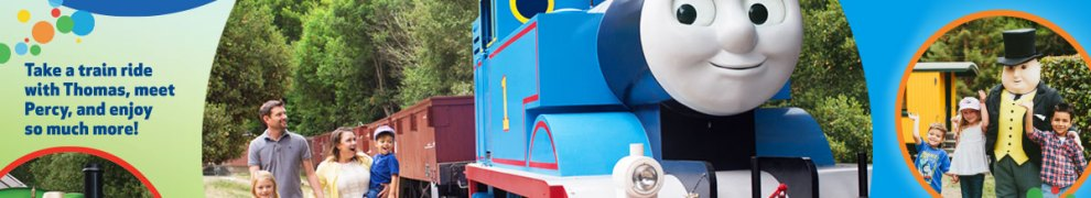 Thomas the Tank Engine at Orange Empire Railway Museum