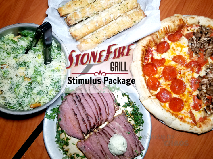 Stonefire Grill Stimulus Package