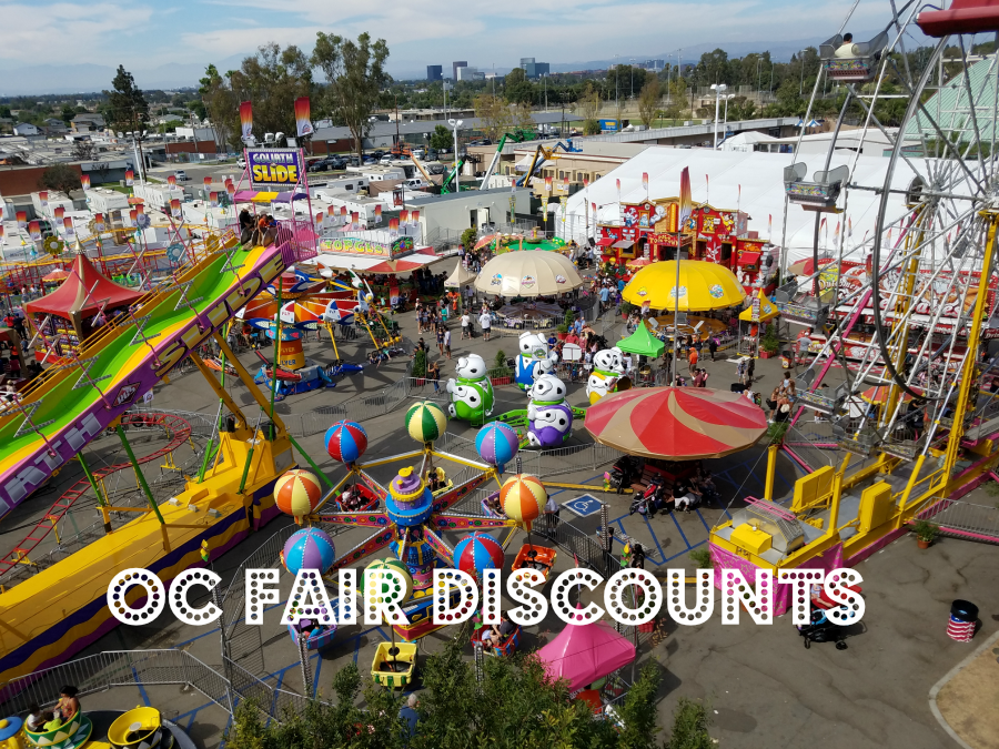 OC Fair Discounts July 13-Aug 12